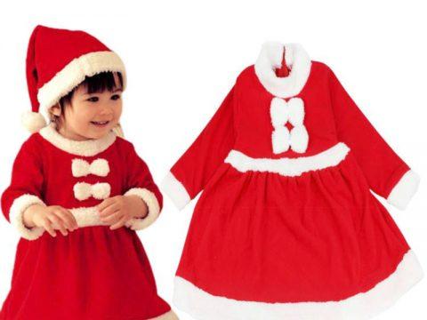 Quần áo noel cho bé gái, đồ giáng sinh đẹp cho bé gái