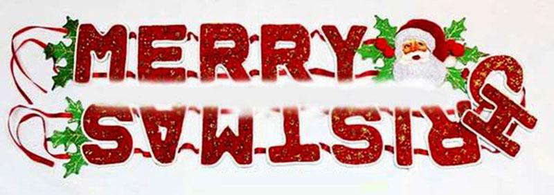 Dây chữ merry christmas