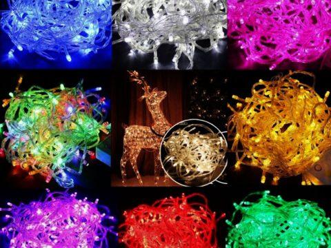Đèn trang trí giáng sinh giá rẻ, các loại đèn Noel trang trí