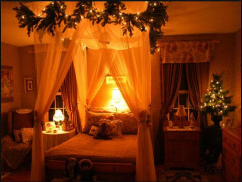 Trang trí giáng sinh cho phòng ngủ