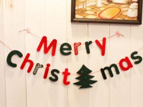 Trang trí noel merry christmas