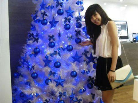 Cây thông noel màu trắng, bán cây thông trắng trang trí giáng sinh