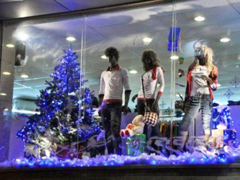Trang trí noel shop, mẫu trang trí giáng sinh dành riêng cho Shop