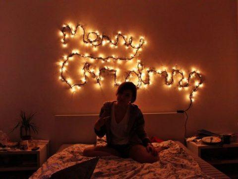 Trang trí noel cho phòng ngủ